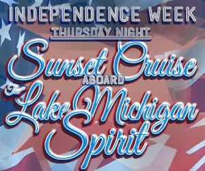 Independence Week: Thursday Night Sunset Cruise Aboard the Lake Michigan Spirit