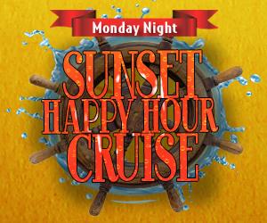 Monday Night Sunset Happy Hour Cruise Aboard the Lake Michigan Spirit
