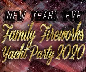 NYC New Years Eve Family Fireworks Yacht Party aboard The Cornucopia Destiny