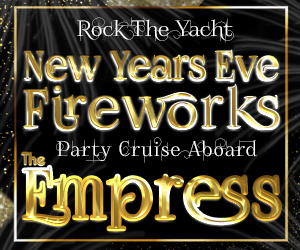 Rock the Yacht: New Year's Eve Fireworks Party Cruise Aboard The Empress Yacht
