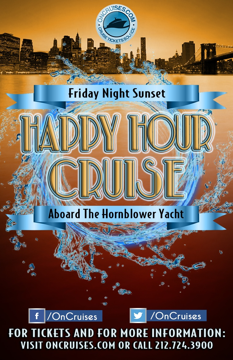 Friday Night Sunset Happy Hour Cruise - 8/9/2019