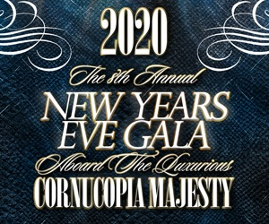 2020 New Year's Eve NYC Gala Aboard The Luxurious Cornucopia Majesty
