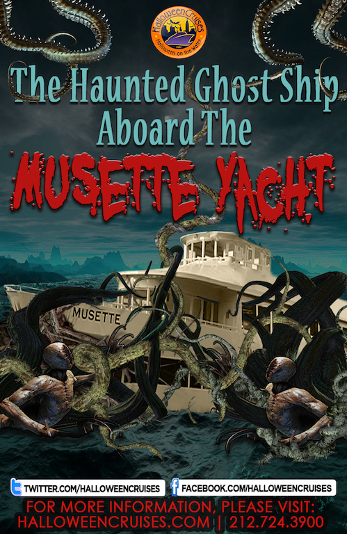 The Haunted Ghost Ship Aboard the Musette Yacht