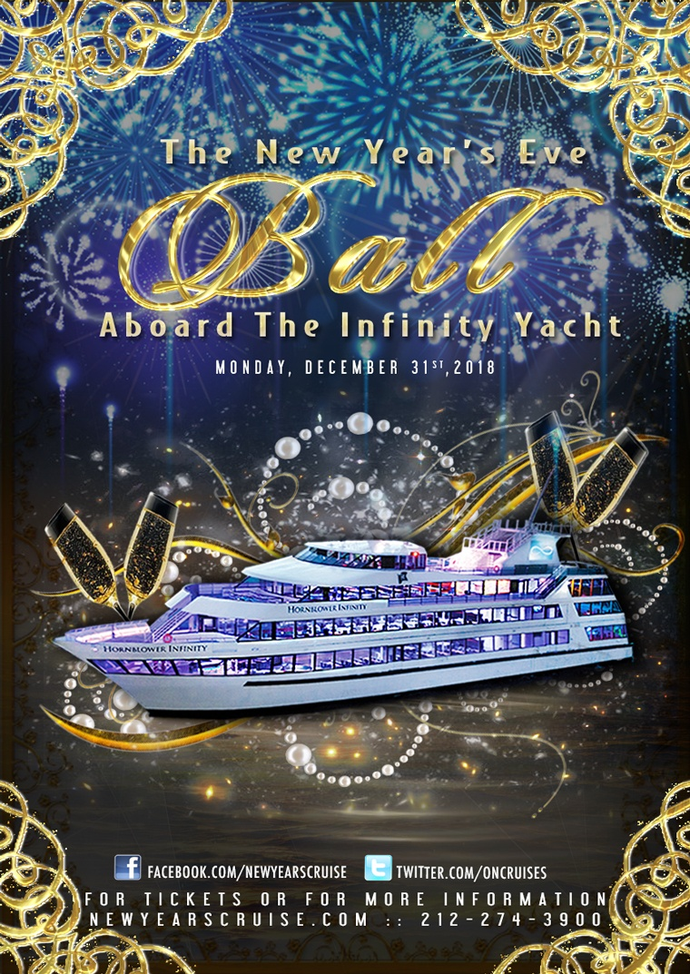 New Year's Eve Ball Aboard the Infinity Yacht