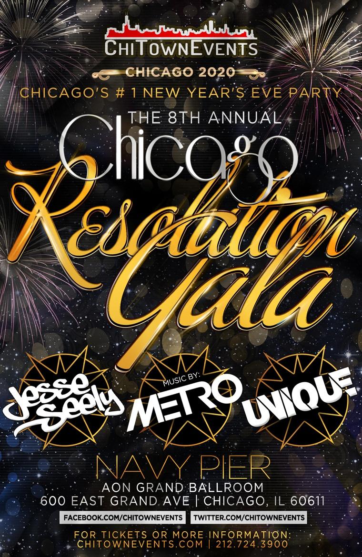 The 8th Annual Resolution Gala at Aon Grand Ballroom at Navy Pier