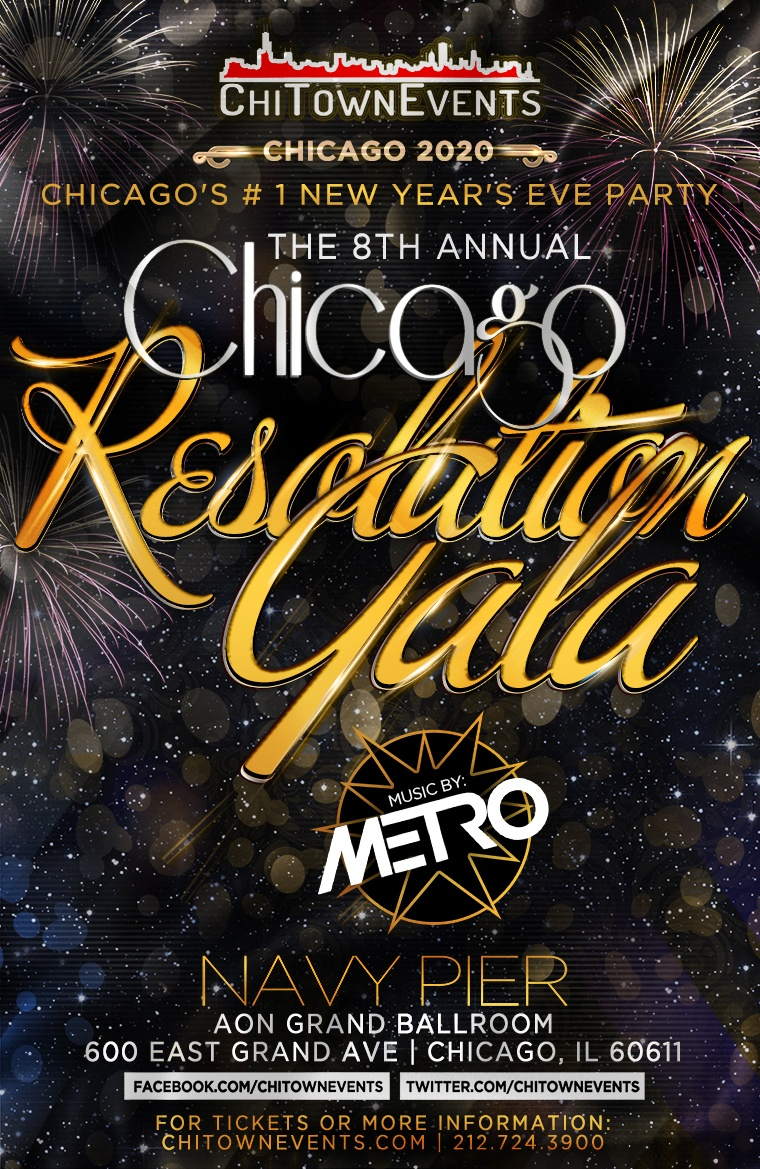 The 8th Annual Resolution Gala at Aon Grand Ballroom at Navy Pier