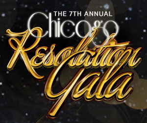 The 7th Annual Resolution Gala at the Aon Grand Ballroom at Navy Pier