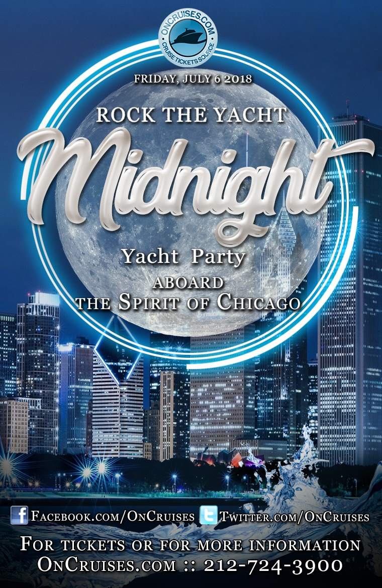 Rock the Yacht: Midnight Yacht Party Aboard the Spirit of Chicago Yacht