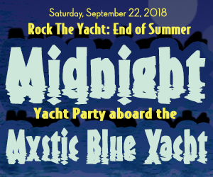 Rock the Yacht: End of Summer Midnight Yacht Party Aboard the Mystic Blue Yacht