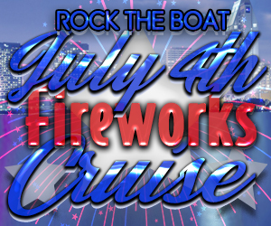 Rock the Boat : July 4th Fireworks Cruise Aboard the Adventure