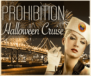 Prohibition Halloween Party Cruise Aboard the San Francisco Belle