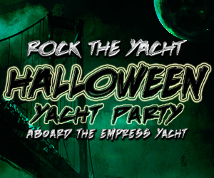 Rock the Yacht: Halloween Yacht Party Aboard the Empress Yacht