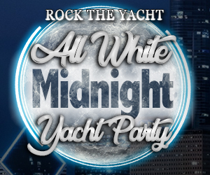 Rock the Yacht: All White Midnight Yacht Party Aboard the Spirit of Chicago