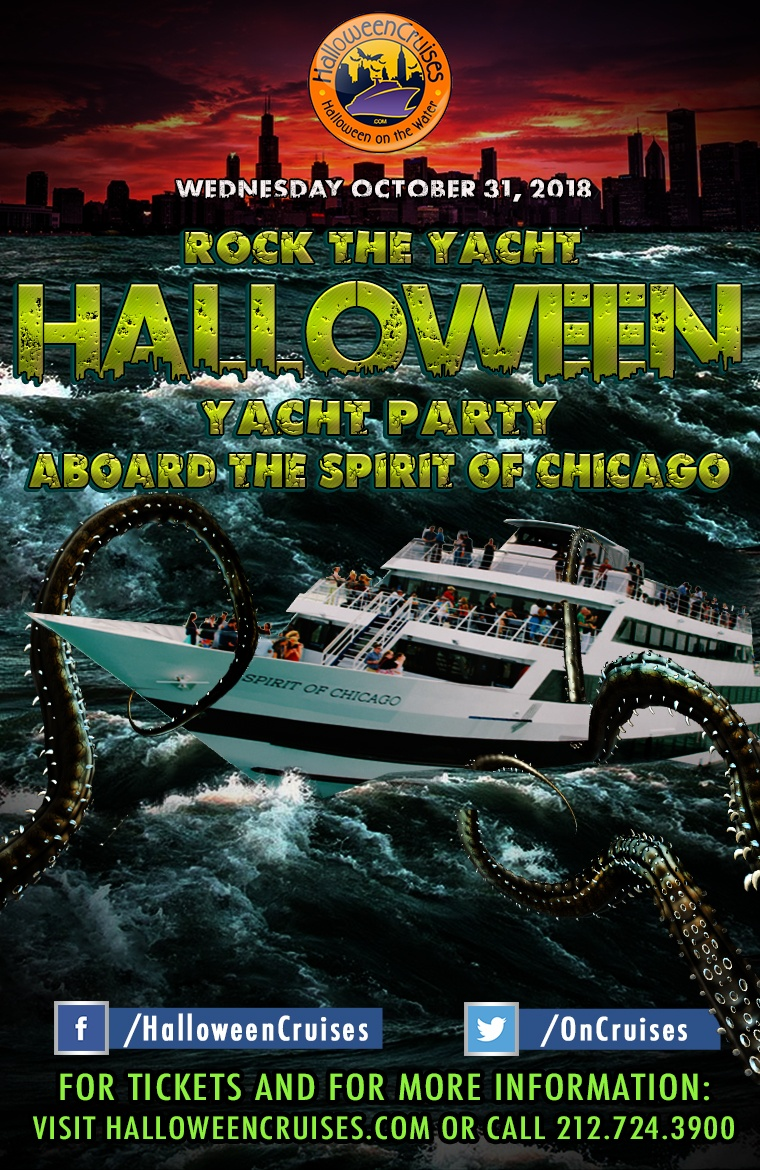 Rock the Yacht: Halloween Yacht Party Aboard the Spirit of Chicago
