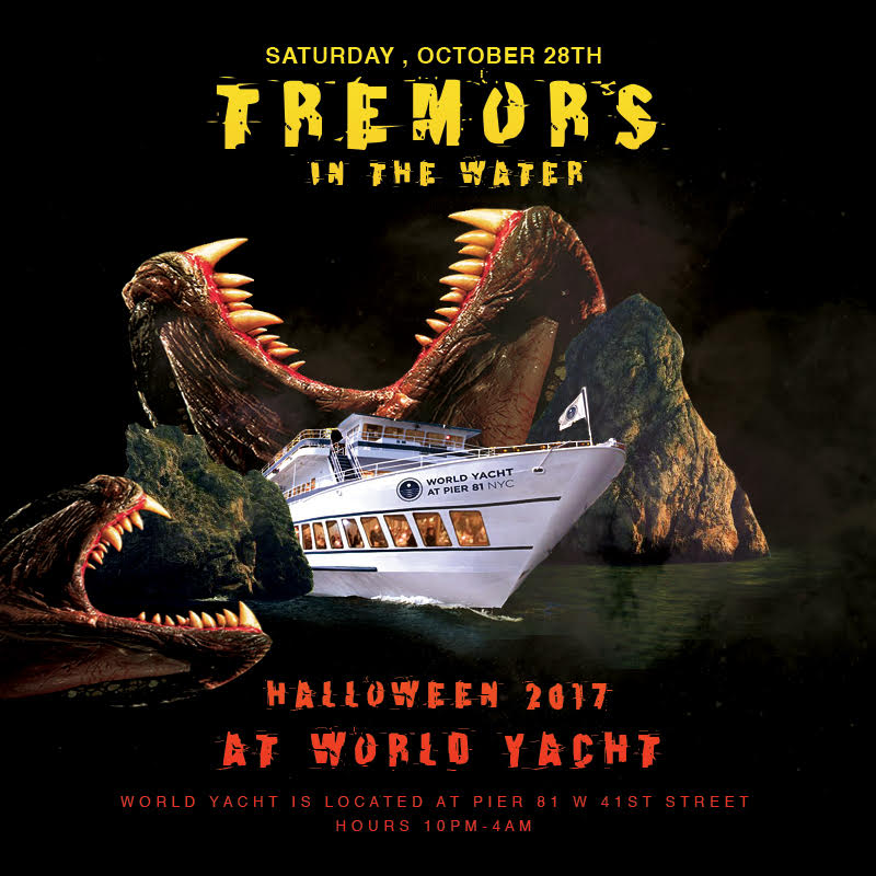 Tremors in the Water on the World Yacht
