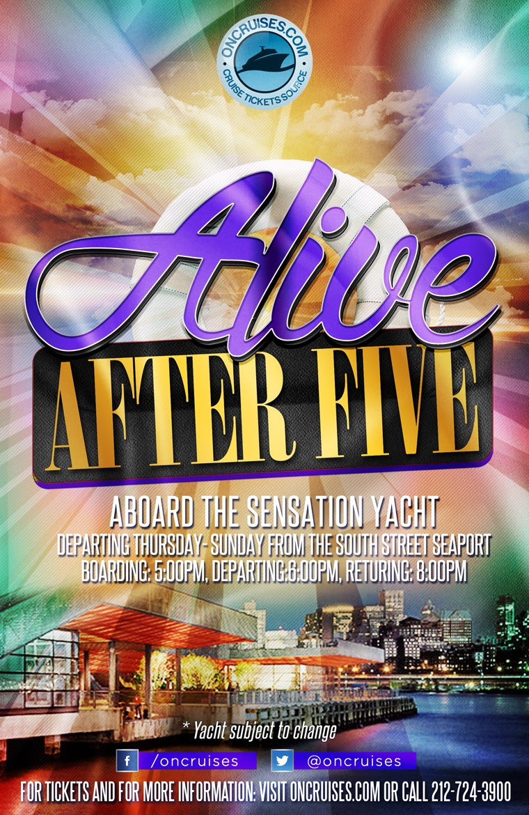 Alive After Five Friday Happy Hour Cruise - 4/26/2019