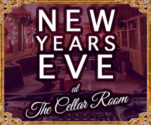New Year's Eve 2018 at Cellar Room at The Gale Hotel