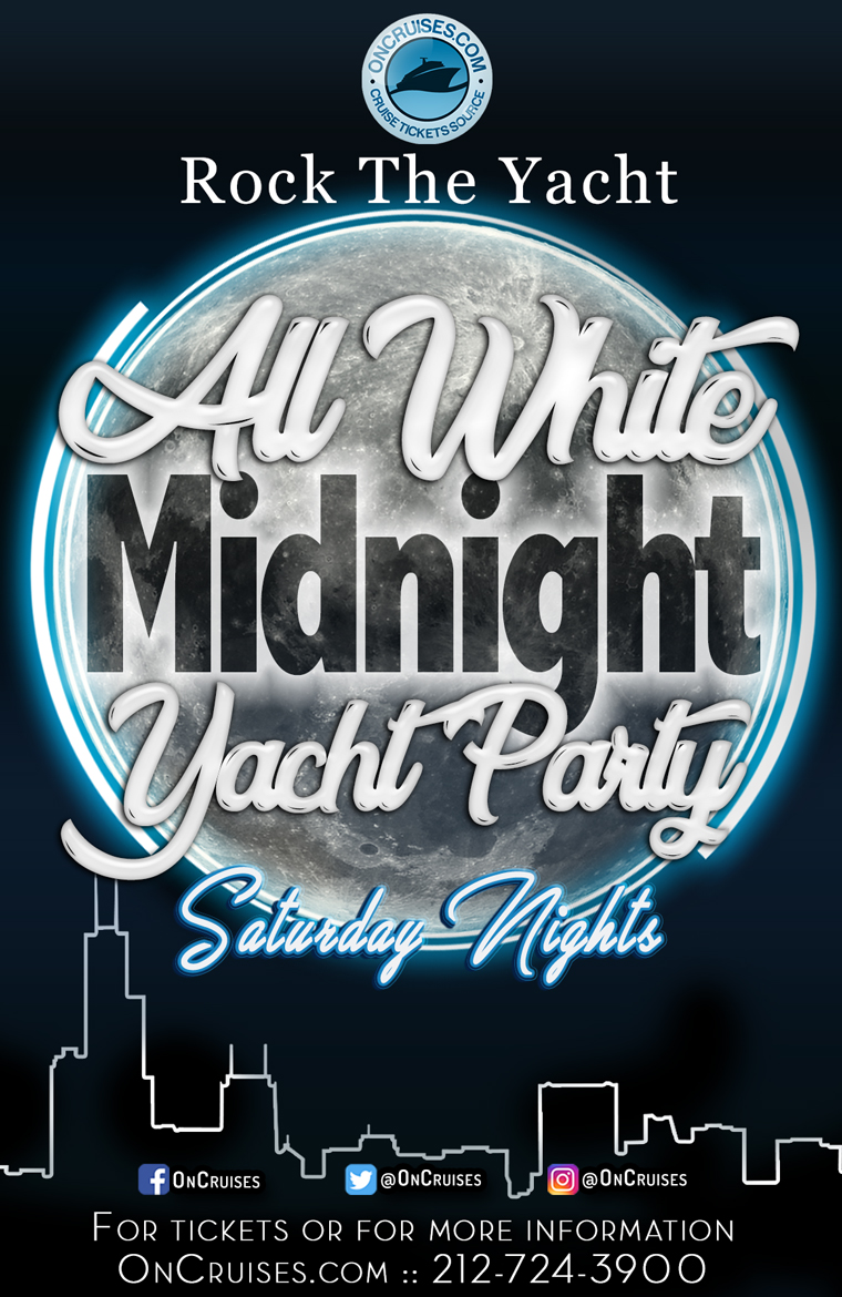 Rock the Yacht: Saturday All White Midnight Yacht Party aboard The Navy Pier Spirit - 09/05/2020