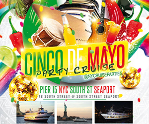 Cinco de Mayo Party Cruise