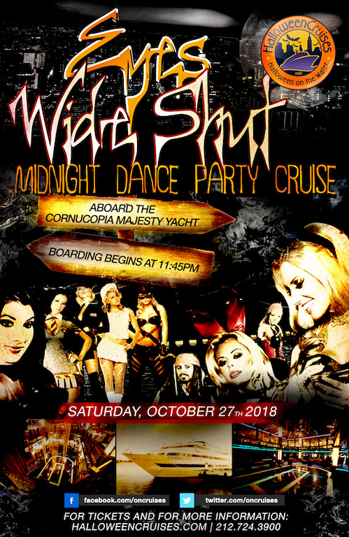 Eyes Wide Shut Midnight Dance Party Cruise Aboard the Cornucopia Majesty Yacht