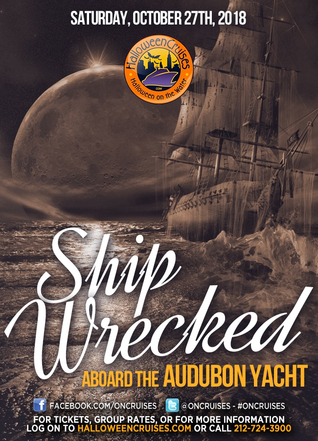 Shipwrecked! The Halloween Party Cruise Aboard the Audubon Yacht