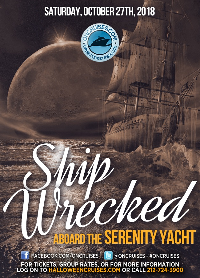 Shipwrecked! The Halloween Party Cruise Aboard the Serenity Yacht