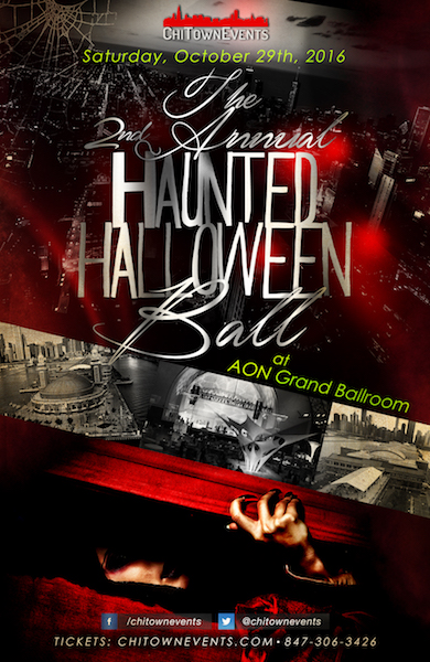 The 2nd Annual Haunted Halloween Ball at Navy Pier's Grand Ballroom