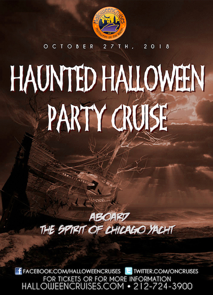 The Haunted Halloween Party Cruise Aboard the Spirit of Chicago Yacht