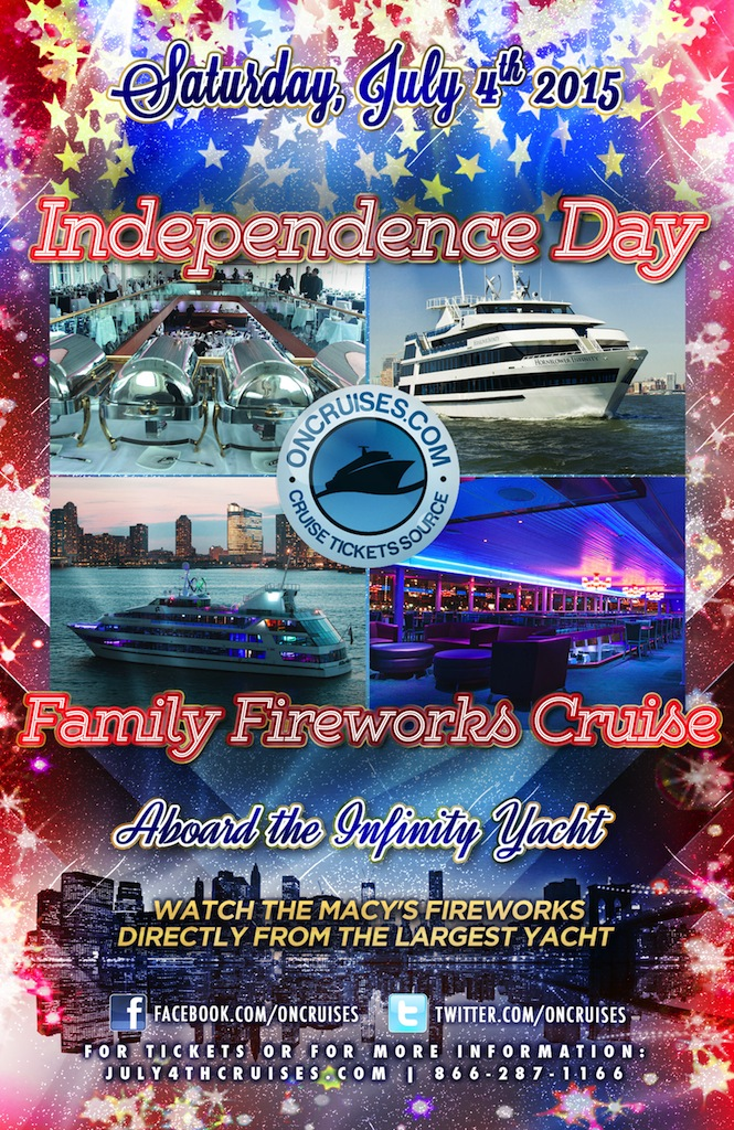 iEvents com - Independence Day Family Fireworks Cruise