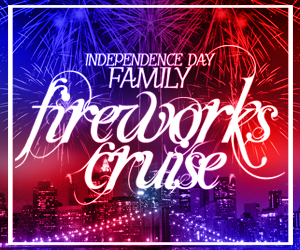 Independence Day Family Fireworks Cruise Aboard the Cornucopia Majesty Yacht