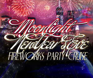 Moonlight New Year's Eve Fireworks Party Cruise Aboard the Great Point