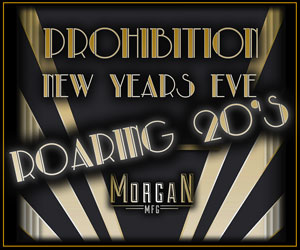 Roaring 20's - Prohibition New Year's Eve at Morgan MFG