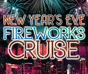 New Year's Eve Fireworks Party Cruise Aboard the Bay Breeze