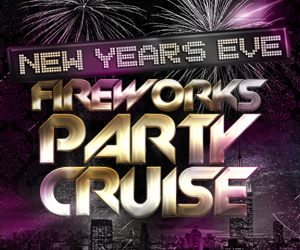 New Year's Eve Fireworks Party Cruise Aboard the Amberjack V Yacht