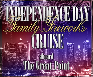 July 4th Family Fireworks Cruise Aboard the Great Point