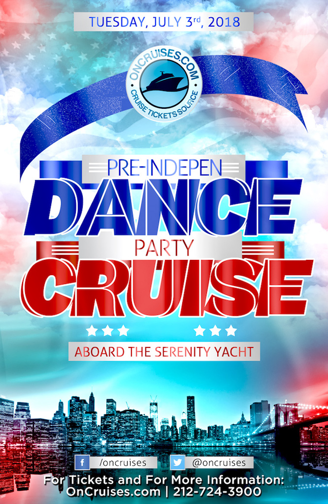 Pre-IndepenDANCE Party Cruise Aboard the Serenity Yacht