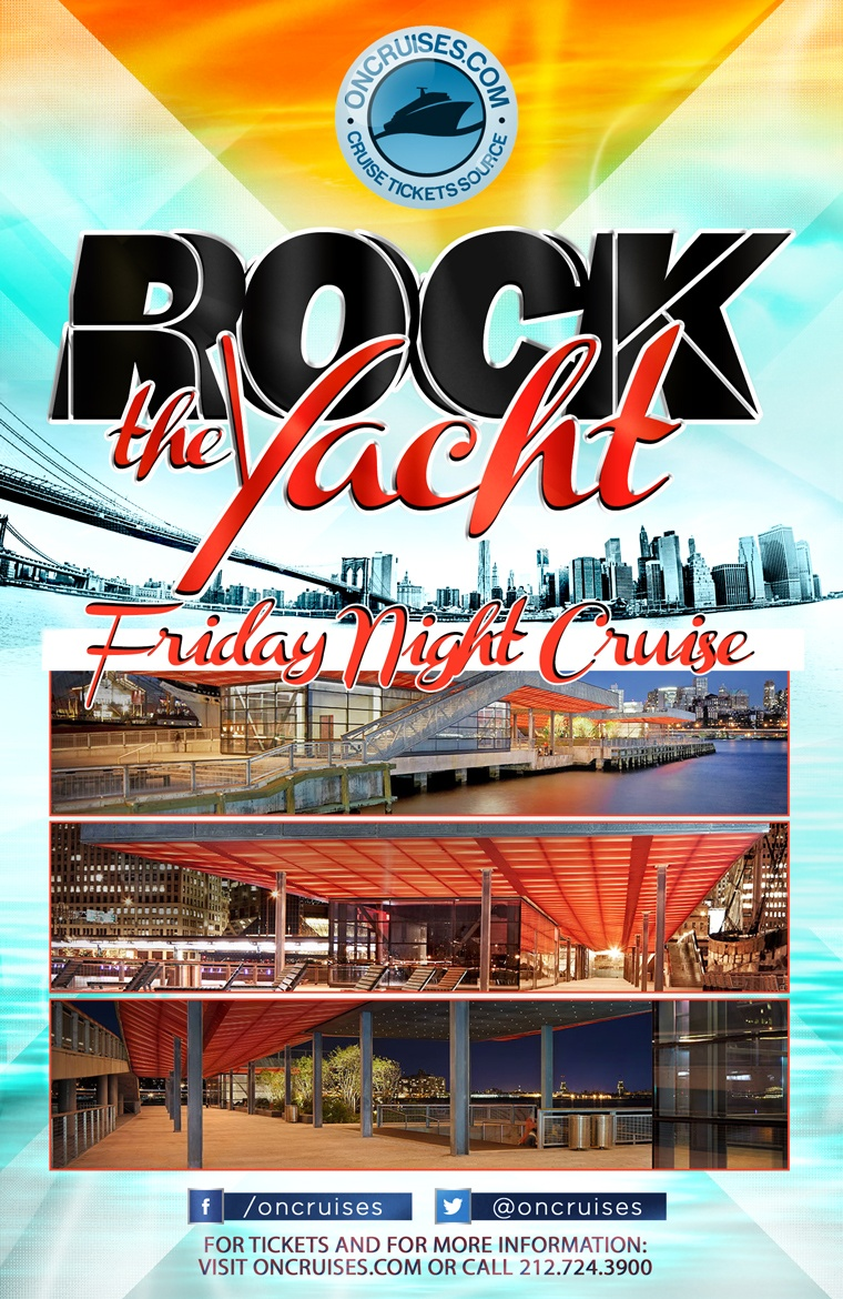 Rock the Yacht Fridays! New York City Party Cruise - 08/28/2020