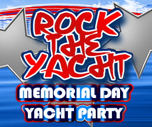 Rock the Yacht Memorial Day Yacht Party Aboard the Chicago Spirit