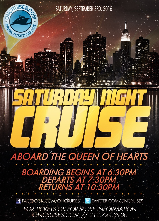 Saturday Night Cruise Aboard the Queen of Hearts