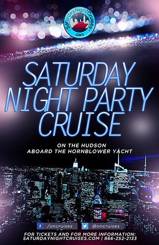 Saturday Night Party Cruise on the Hudson - 9/15/18