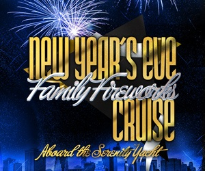 2020 NYC NYE Family Fireworks Cruise Aboard The Serenity