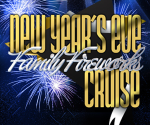New Year's Eve Family Fireworks Cruise Aboard the Serenity Yacht