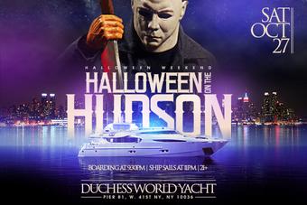 Halloween on the Hudson Aboard the Duchess Yacht
