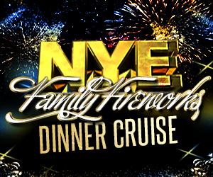 NYC New Year's Eve Fireworks Dinner Cruise Aboard the Sundancer Yacht