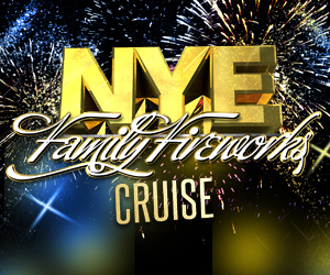 New Year's Eve Family Fireworks Cruise Aboard the Sundancer Yacht