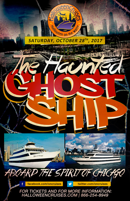The 3rd Annual Midnight Haunted Ghost Ship Aboard the Spirit of Chicago Yacht