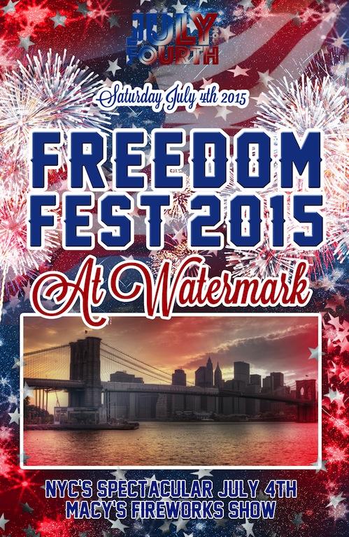 2015 Freedom Fest at Watermark Bar