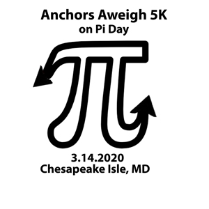 Anchors Aweigh 5K - on Pi Day!