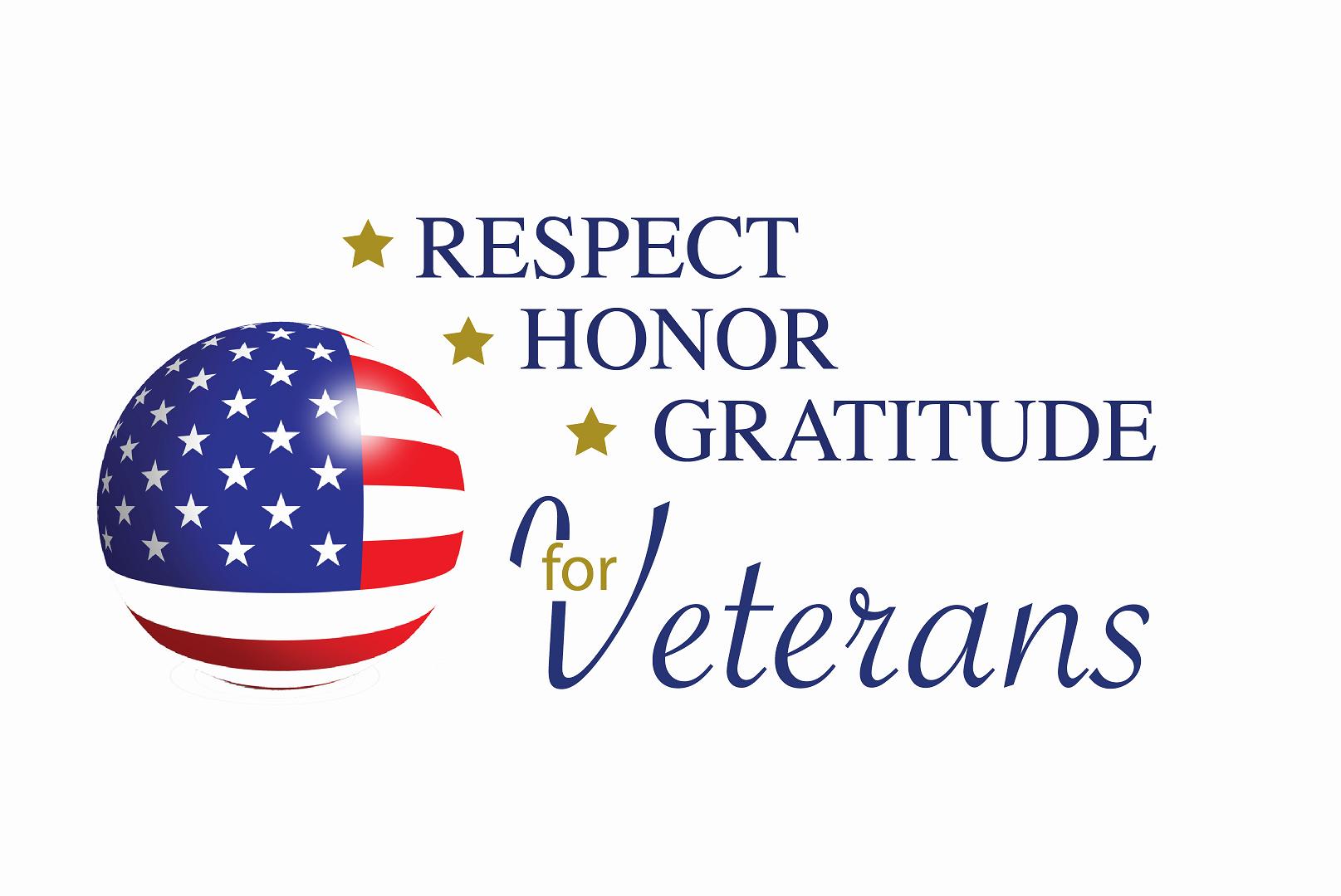 Respect-Honor-Gratitude for Veterans 2019