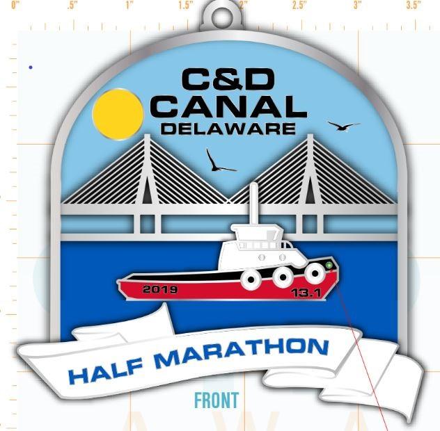 C&D Canal Half Marathon & 5K 2019